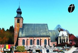 Carte Postale, Eglises, Churches Of Europe, Belgium, Moulbaix, Sint-Sulpiciuskerk - Kirchen U. Kathedralen