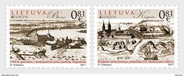 LITHUANIA 2017 Europa 2017 - Castles - Lithuania