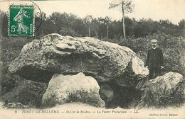 Réf : A-18 Pie Tre-1165 : SAINT-CYR-LA ROSIERE. DOLMEN. LA PIERRE PROCUREUSE. FORET DE BELLEME ORNE. - Dolmen & Menhirs