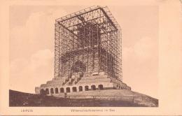 ALTE   AK  LEIPZIG / Sachsen  -  Völkerschlachtdenkmal Im Bau - 1909 Gedruckt - Leipzig