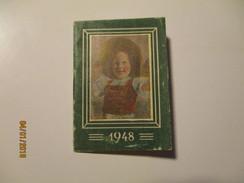 GERMANY  1948  SMALL POCKET CALENDAR , 0 - Calendars