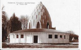 Exposition Coloniale Internationale De PARIS 1931 - Palais De L' Afrique Equatoriale Français En Cours D'éxécution - Esposizioni
