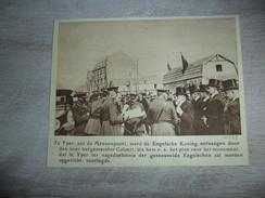 Origineel Knipsel ( 1286 ) Uit Tijdschrift :  Yper  Ypres  Ieper   1922 - Verzamelingen