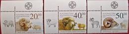 Kazakhstan  2003 Domestic And Wild Sheep   3 V  MNH - Kazachstan