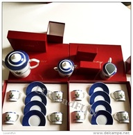 Cartier La Maison Venitienne Coffee Service - Limoges Porcelain- Servizio Caffè - Never Used - Cups