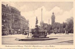 ALTE AK  LEIPZIG / Sachsen  - Teilansicht - 1940 Gelaufen Mit Messe- Sonderstempel - Leipzig