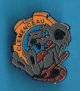 PIN'S //  ** MÉCANICIEN  ** CLÉMENCEAU ** . (Béraudy) - Militair & Leger
