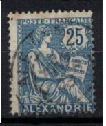 ALEXANDRIE        N°  YVERT      27     ( 3 )    OBLITERE       ( O   2/31 ) - Gebraucht