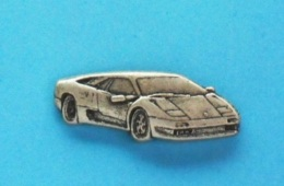 1 PIN'S  //   ** LAMBORGHINI DIABLO ** '3D ** - Ferrari