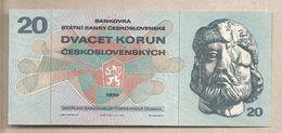 Cecoslovacchia - Banconota Non Circolata FdS Da 20 Corone - 1970 - Cecoslovacchia