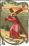 Jésus Portant La Croix - Images Religieuses