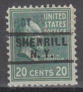 USA Precancel Vorausentwertung Preo, Locals New York, Sherrill 729 - Vereinigte Staaten
