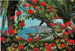 Imperia Comune Di San Remo Panorama Da Levante Riviera Dei Fiori Flowers Rose - Imperia