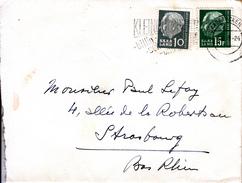 SAARLAND 1959 COVER To FRANCE - [7] République Fédérale