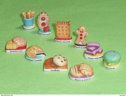 Fèves Série Complète : Les Gateaux Biscuits - Fèves