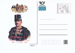 Tschech. Rep. / Ganzsachen (Pre2012/43) Karl I. Von Österreich (1887-1922) Kaiser Österreich-Ungarn, 125. Geburtstag - 1. Weltkrieg