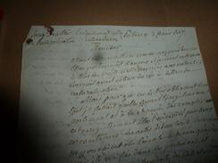 1817 Enregt. NATURALISATION : Av. La Révolution Un étranger Devenait Français Et Jouissait Des Mêmes Droits Si Le ROI.. - Manuscrits