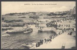 Biarritz - Le Port Des Pêcheurs, Bateau De Promenade - Voir 2 Scans. - Biarritz