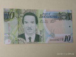 10 Pula 2010 - Botswana