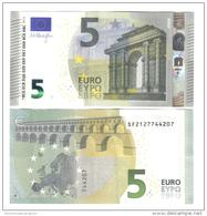 NEW 5 € 2013 ITALIA Italie SERIE SF Mario Draghi FDS UNC DA MAZZETTA  S002B1 Cod.€.154 - 5 Euro