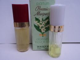 """BOURJOIS """" FLAMME"""" 11 ML EDT + """" PREMIER MUGUET"""" 10 ML ( PRESQUE VIDE) LIRE ET VOIR!! - Miniaturen Flesjes Dame (met Doos)"""