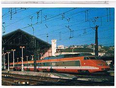 CPM    TRAIN  TGV LYON PERRACHE  CB362001 - Otros