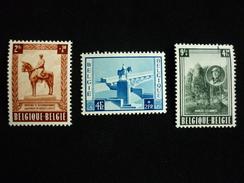 N°938/940 - Belgique/België 1954 - Neufs