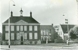 Etten-Leur 1971; Gemeentehuis - Geschreven. (Kiosk Winkelcentrum, Etten-Leur) - Netherlands