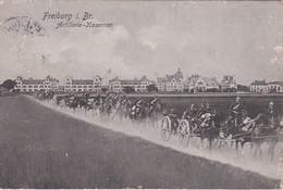 ALLEMAGNE 1906 CARTE POSTALE DE FREIBURG ARTILLERIE-CASERNE - Casernes