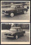 Véhicule Publicitaire Cognac Pellisson (2 Photos 18 X 13 Cm). - Automobiles