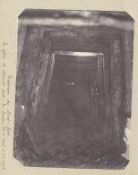 Paris : Travaux Métro Nord Sud, Galerie Jonction Est Ouest, Mars 1914.  Quadruplement. Photo Originale - Trains