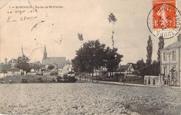 RARE CPA Saint-Senoch Route De Saint-Flovier (animée) M1565 - Other Municipalities