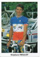 CYCLISME TOUR  DE  FRANCE  Autographe STEPHANE HEULOT - Radsport