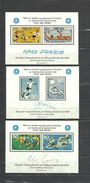 GERMANY,  BERLIN   Olympics Olympic Games   Moscow 1980  3 Souvenir Sheets - Summer 1980: Moscow