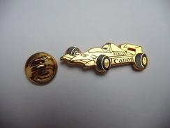 Beau Pin's En Zamac , Auto Formule 1 , Renault , Carburant ELF , Photo Canon , Signé Drago - F1