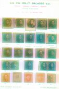 Willy Balasse 1363 - 1366. Auktion 1990 - Auktionskataloge