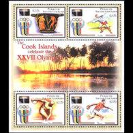 PENRHYN 2000 - Scott# 460 S/S Olympics MNH - Penrhyn