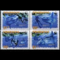 PENRHYN 2003 - Scott# 462-5 WWF-Sunfish Set Of 4 MNH - Penrhyn