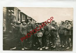 Prisonniers ANGLAIS-NON SITUEE-Combat De CAMBRAI-Transport-CARTE PHOTO All.-Guerre 14-18-1 WK-France-59-62-Militaria- - War 1914-18