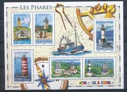 2007 France Bloc Feuillet N°114 Les Phares YB114 - Blocks & Kleinbögen