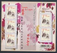 2011 France Bloc Feuillet N°F4531 Année Lunaire Chinoise Du Lapin YB4531 - Sheetlets