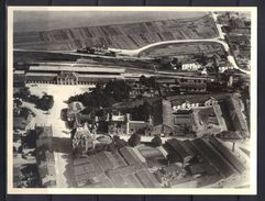 Cognac : Vue Aérienne Quartier De La Gare Et Ets Pellisson (24 X 18 Cm). - Lieux