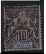 ANJOUAN        N°  YVERT      5    ( 1 )     OBLITERE       ( O   2/31 ) - Anjouan (1892-1912)