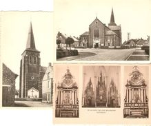 Kasterlee : Kerk  ---  3 Kaarten - Kasterlee