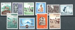 Ceylon 1954 Different Images MH* - Lot. 4638 - Sri Lanka (Ceylon) (1948-...)