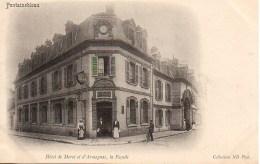 77 FONTAINEBLEAU  Hôtel De Moret Et D'Armagnac   La Façade - Fontainebleau
