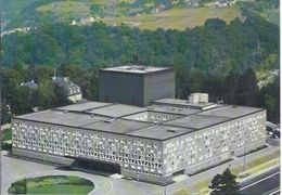 Luxembourg - Luftansicht - Theatre Municipal  **AK5-924** - Lussemburgo - Città