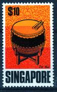 "SINGAPORE  1969  $ 10  ""TA KU ""  MNH - Singapur (1959-...)"