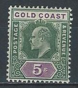 Gold Coast SG 46, Mi 42 * MH - Gold Coast (...-1957)