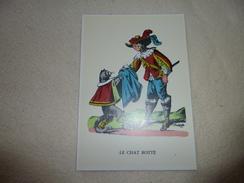 BELLE ILLUSTRATION ...LE CHAT BOTTE ...DESSIN DE CHARLES PINOT - Vertellingen, Fabels & Legenden